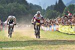 Финальный спринт между Ярославом Кулхавы иНино Шуртером
