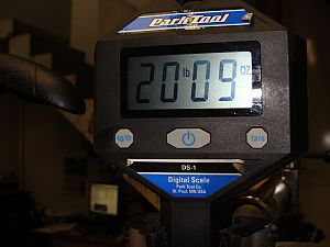 Карбоновый найнер от Santa Cruz — вес
