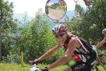 Алексей Косминский на этапе Bike TransAlp