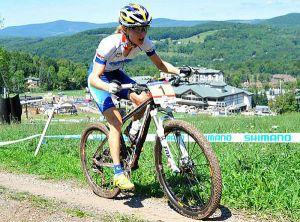 Катарина Пендрель выиграла шестой этап Кубка мира по маунтинбайку вдисциплине кросс-кантри