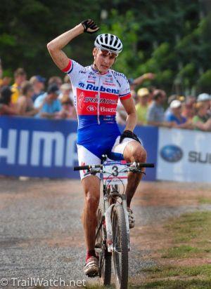 Ярослав Кулгавы выиграл шестой этап Кубка мира по маунтинбайку вдисциплине кросс-кантри